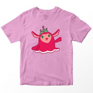 Kaos Abby Hatcher Princess Flug, Warna Pink Umur 1-10 Tahun by DistroJakarta.com