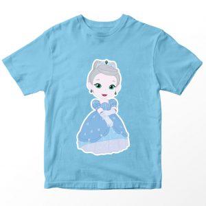 Kaos Rainbow Ruby Princess Kiki, Warna Biru Muda Umur 1-10 Tahun by DistroJakarta.com