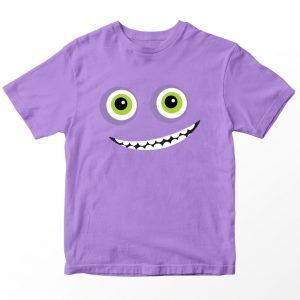 Kaos Monster University Randall, Warna Lilac Ungu Muda Umur 1-10 Tahun by DistroJakarta.com