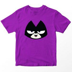 Kaos Teen Titans Go Raven, Warna Ungu Tua Umur 1-10 Tahun by DistroJakarta.com