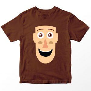 Kaos Toy Story Sheriff Woody, Warna Coklat Umur 1-10 Tahun by DistroJakarta.com