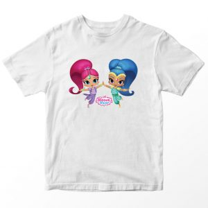 Kaos Shimmer and Shine 3, Warna Putih Umur 1-10 Tahun by DistroJakarta.com