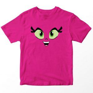 Kaos Teen Titans Go Star Fire, Warna Pink Fushia Umur 1-10 Tahun by DistroJakarta.com