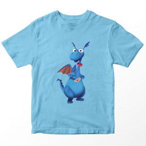 Kaos Doc McStuffin Stuffy Philbert, Warna Biru Muda 1-10 Tahun by DistroJakarta.com