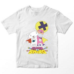 Kaos Supershiro Dekapoo, Warna Putih Umur 1-10 Tahun by DistroJakarta.com