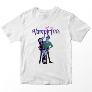 Kaos Vampirina Family, Warna Putih Umur 1-10 Tahun by DistroJakarta.com