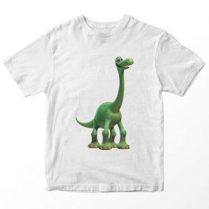 Kaos The Good Dinosaur Arlo 2 Anak, Warna Putih Umur 1-10 Tahun by DistroJakarta.com