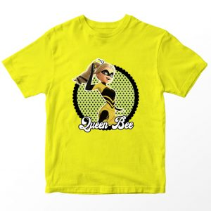 Kaos Miraculous Queen Bee Anak, Warna Kuning Umur 1-10 Tahun by DistroJakarta.com