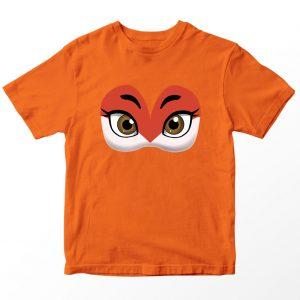 Kaos Miraculous Rena Rouge Mask Anak, Warna Oranye Umur 1-10 Tahun by DistroJakarta.com