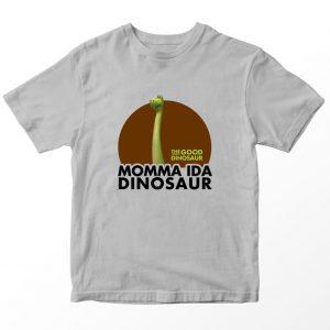 Kaos The Good Dinosaur Momma Ida Dinosaur Anak, Warna Abu-abu Umur 1-10 Tahun by DistroJakarta.com
