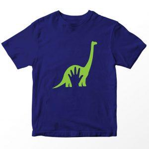Kaos The Good Dinosaur Hand Logo Anak, Warna Biru Navy Umur 1-10 Tahun by DistroJakarta.com