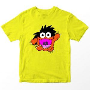 Kaos Ryan's World Moe The Monster Anak, Warna Kuning Umur 1-10 Tahun by DistroJakarta.com