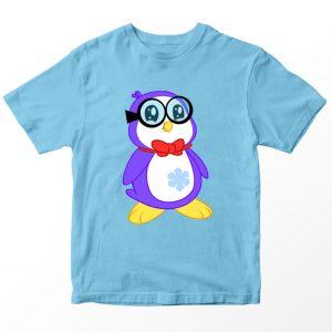 Kaos Ryan's World Peck Anak, Warna Biru Muda Umur 1-10 Tahun by DistroJakarta.com